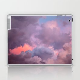 Pink and Lavender Clouds Laptop & iPad Skin