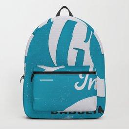 GOI GOA airport tag Backpack