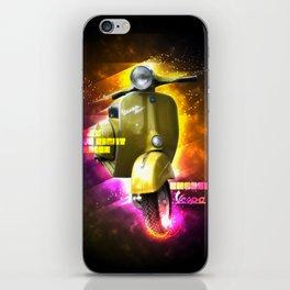 Vespa, a way of life! iPhone Skin