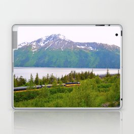 Alaska Passenger Train - Bird Point Laptop & iPad Skin