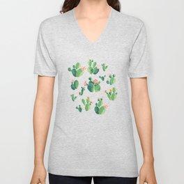 Cactus pattern II Unisex V-Neck