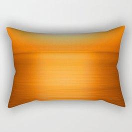 Sunset on the Water-Deep Orange Rectangular Pillow