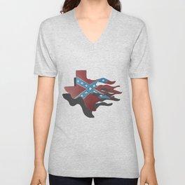 rebel texas Unisex V-Neck