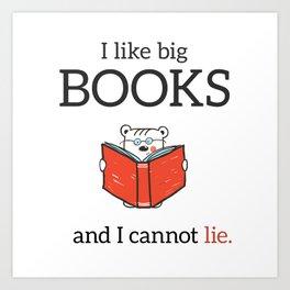 Big books Art Print