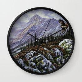 Redtail Hunter Wall Clock