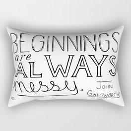 Messy Rectangular Pillow