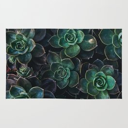 The Succulent Green Rug