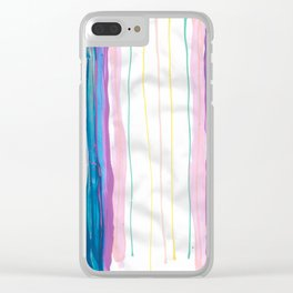 Lines Team Acrylic Clear iPhone Case