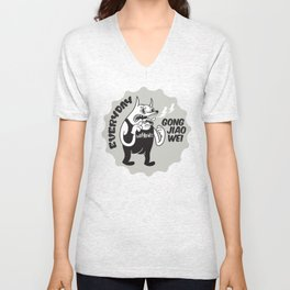 Everyday Gong Jiao Wei Unisex V-Neck