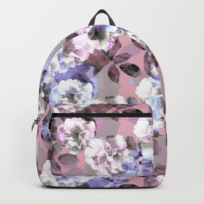 Vintage Floral Garden #society6 #decor #buyart Backpack
