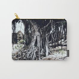 Tree Faces Carry-All Pouch