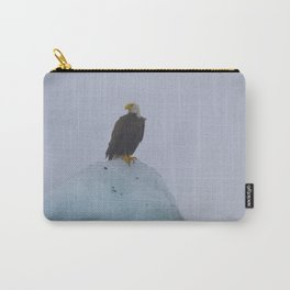 Eagle on an Iceberg Carry-All Pouch