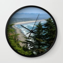 An Endless Costal View Wall Clock