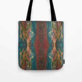 The Perennial Climax (Echo From the Cave) (Reflection) Tote Bag