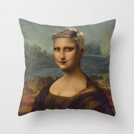 monalisa 2015 Throw Pillow
