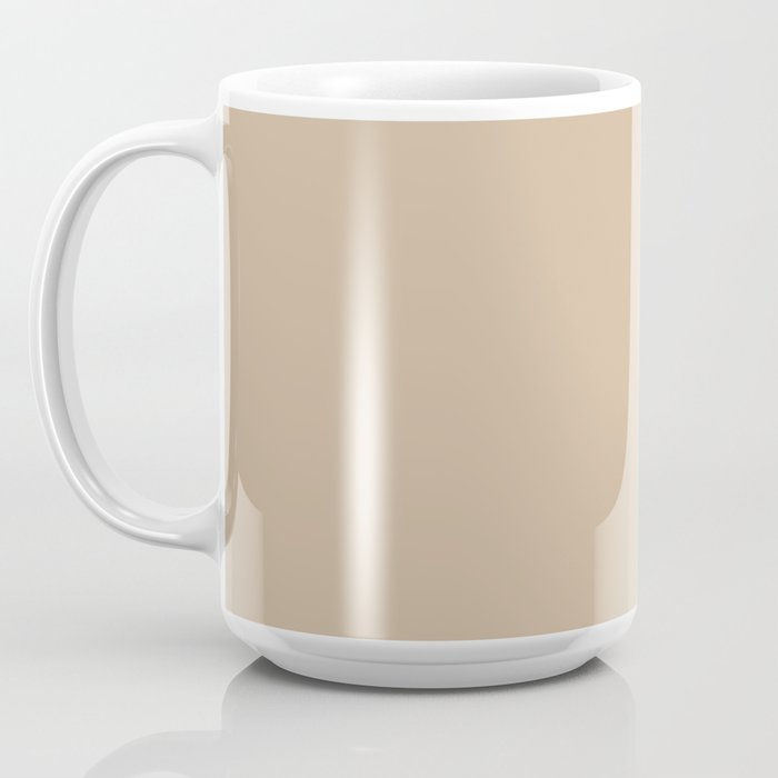 A day without coffee is like...wait, I have no idea (tan) Coffee Mug