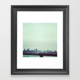ACROSS MTL Framed Art Print