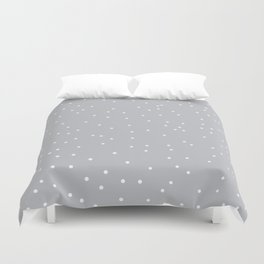 Gray Mist Duvet Cover