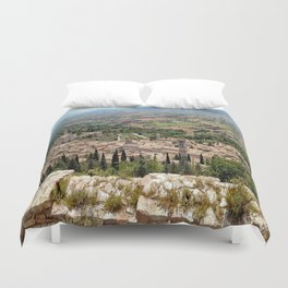 Assisi View Duvet Cover