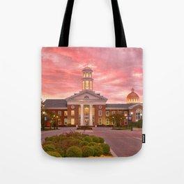 Trible Library CNU at Sunset Tote Bag