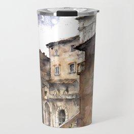 Cortona, Italy Travel Mug