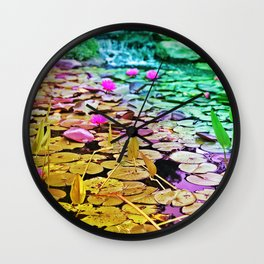 Down By The Riverside Wall Clock