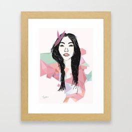Portrait 4 Framed Art Print