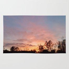 November Sunset in Mariposa Rug