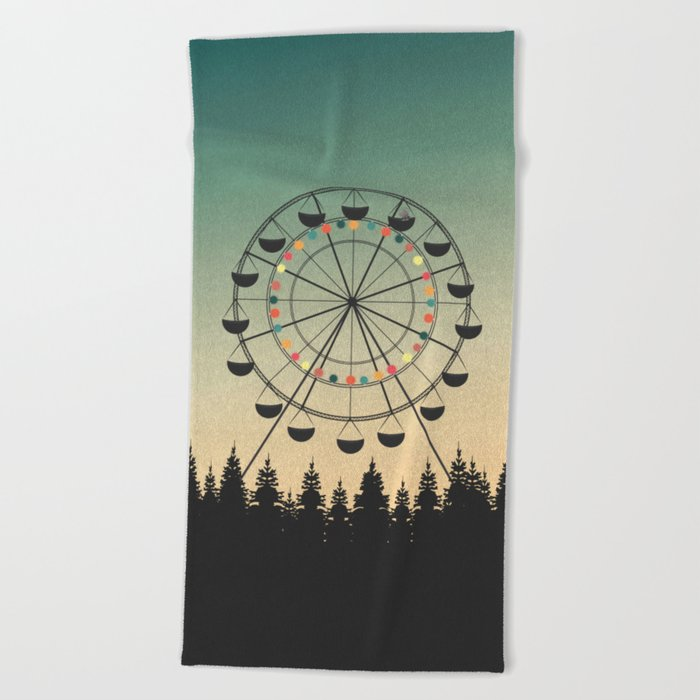 Take a Ride Beach Towel