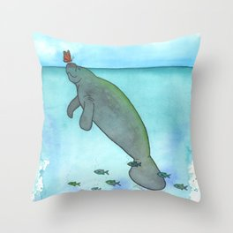 Sunny Weather Friends Throw Pillow