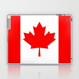 Canadian National flag, Authentic color and 3:5 scale version Laptop & iPad Skin