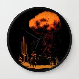 Atomic Cowboy Wall Clock