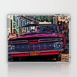 Old american car in Trinidad, Kuba Laptop & iPad Skin