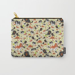 Spaniel Pattern Carry-All Pouch