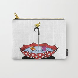 Swimming Birds Carry-All Pouch