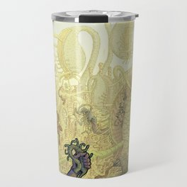 Mycelium Seep - Cover art Travel Mug