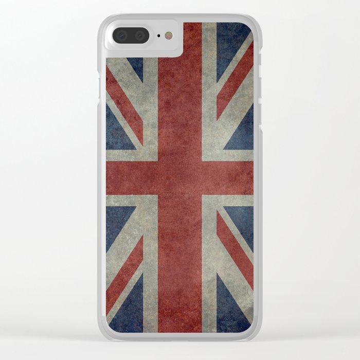 Union Jack Official 3:5 Scale Clear iPhone Case