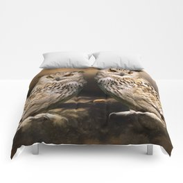 Two Owls Comforters