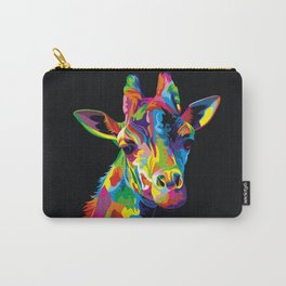 COLOURFUL GIRAFFE Carry-All Pouch
