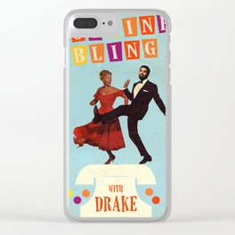 Hotline Bling Clear iPhone Case