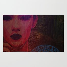 Dark Lady of the Forest of the Damned Rug