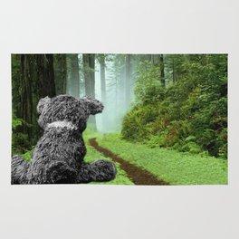 Teddy Bear Left Behind Rug