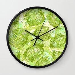 Verde que te quiero Verde Wall Clock