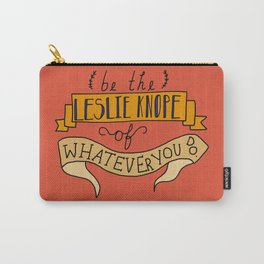 Leslie Knope Carry-All Pouch