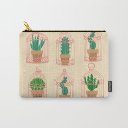 Cactus in birdcage Carry-All Pouch