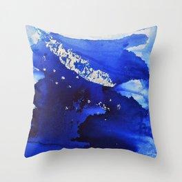 Silverleaf Feather1 Throw Pillow