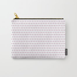 Micro hearts Carry-All Pouch