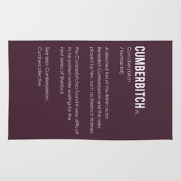 Cumberbitch Rug