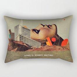 Love Is Always Waiting Rectangular Pillow