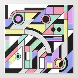 De Stijl Abstract Geometric Artwork Canvas Print
